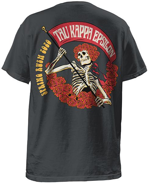 TKE Rush Shirt Deadhead