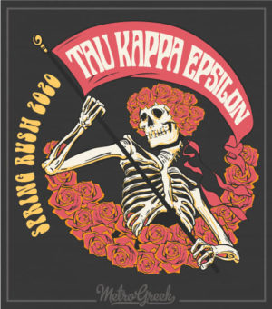 TKE Rush Shirt Grateful Dead