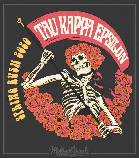 TKE Rush Shirt Grateful Dead