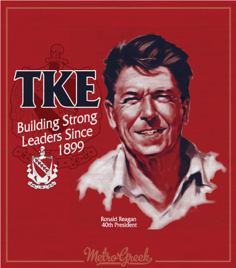 TKE Rush Shirt Reagan Strong Leaders