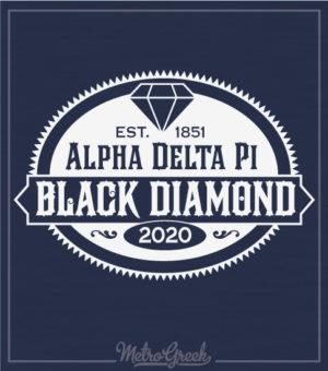 Alpha Delta Pi Black Diamond Formal Shirt