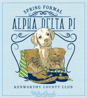 Alpha Delta Pi Puppy and Boots Formal