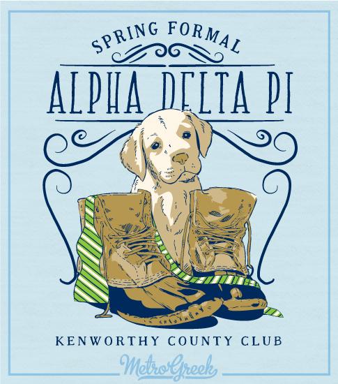 Alpha Delta Pi Puppy and Boots Formal