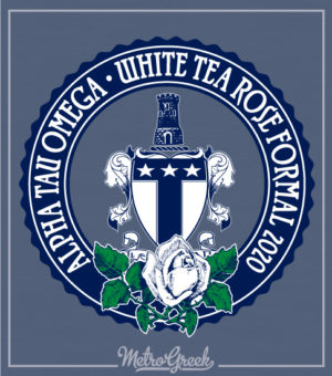 Alpha Tau Omega White Tea Rose Formal