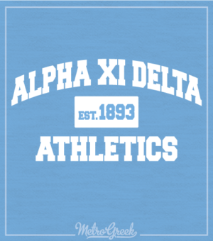 Alpha Xi Delta Intramural Shirt