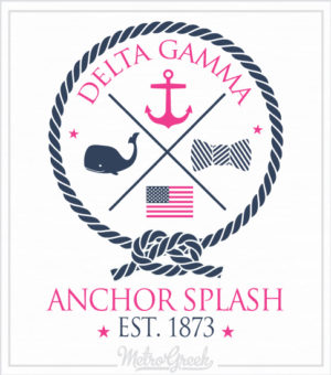 Anchor Splash Shirt Preppy
