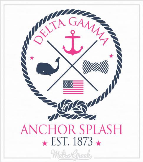 Anchor Splash Shirt Preppy