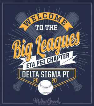 Bid Day Shirt Baseball League Shirt