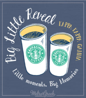 Big Little Reveal Shirt Coffee Shop