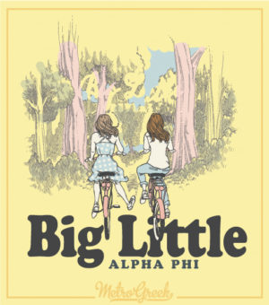 Alpha Phi Big Little Reveal Shirt