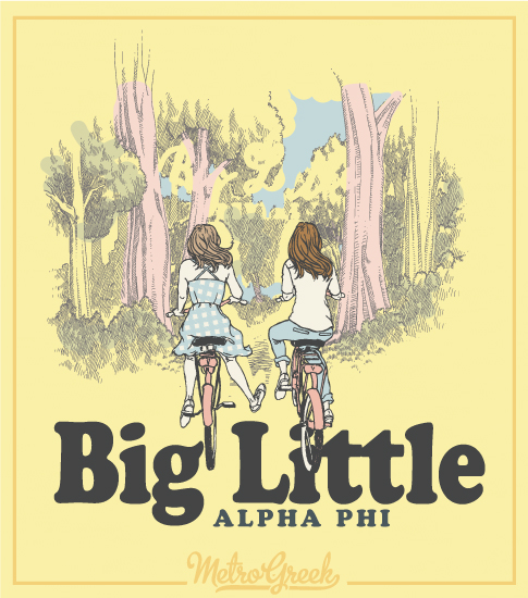 Alpha Phi Big Little Reveal Shirt