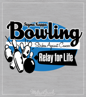 Sigma Kappa Strike Against Cancer Shirt