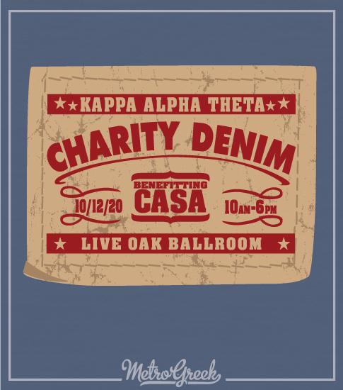 Charity Denim Shirt Theta CASA