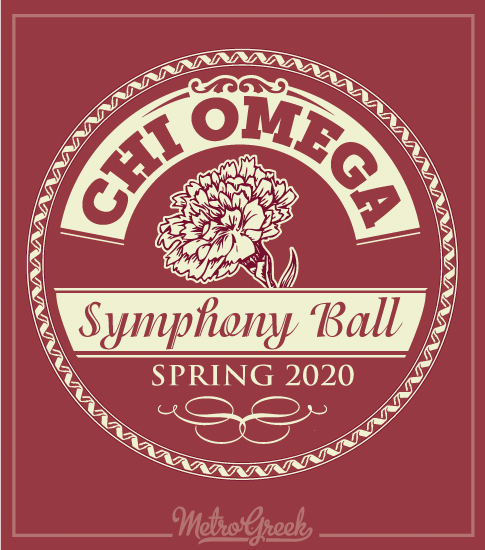 Chi Omega Symphony Ball Formal Shirt