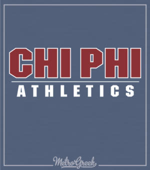 Chi Phi Intramural Athletic Shirt