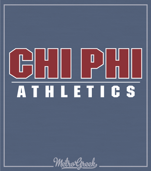 Chi Phi Intramural Athletic Shirt