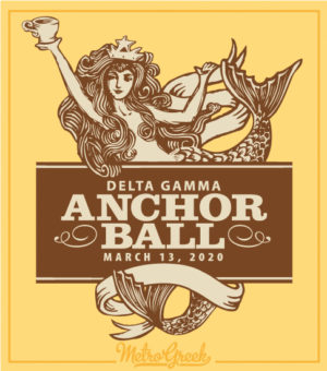 Delta Gamma Anchor Ball Formal Shirt