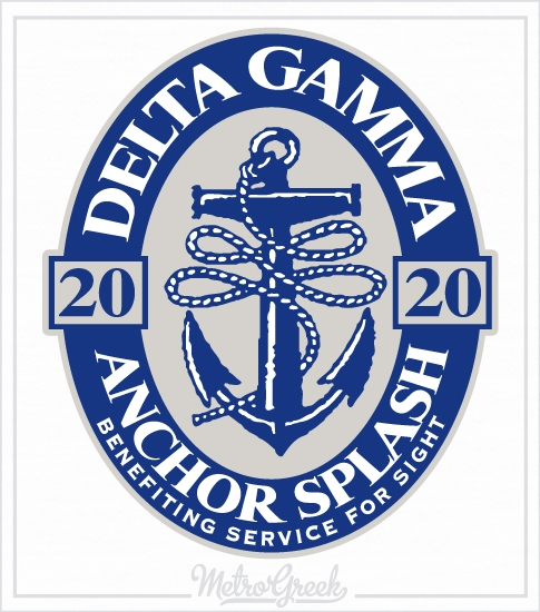 Delta Gamma Anchor Splash Shirt