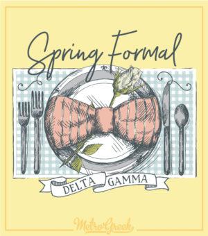 Delta Gamma Spring Formal Dinner Shirt