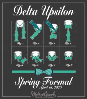 Delta Upsilon Formal Shirt How To Tie