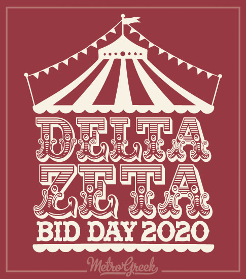 Delta Zeta Circus Bid Day Shirt