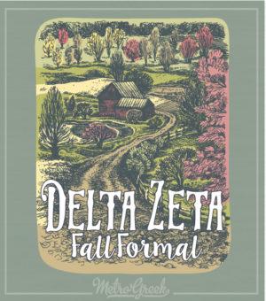 Delta Zeta Fall Barn Formal Shirt