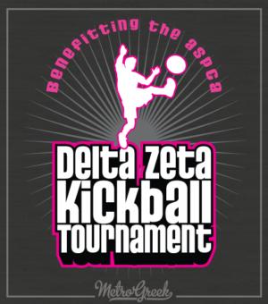 Delta Zeta Kickball Tournament Shirt