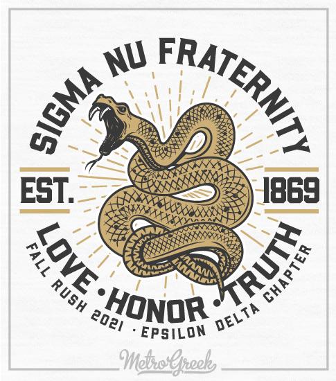 Fraternity Rush Shirt Sigma Nu