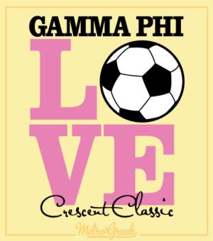 Gamma Phi Volleyball Tournament Shirt