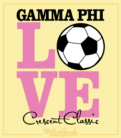 Gamma Phi Volleyball Tournament Shirt