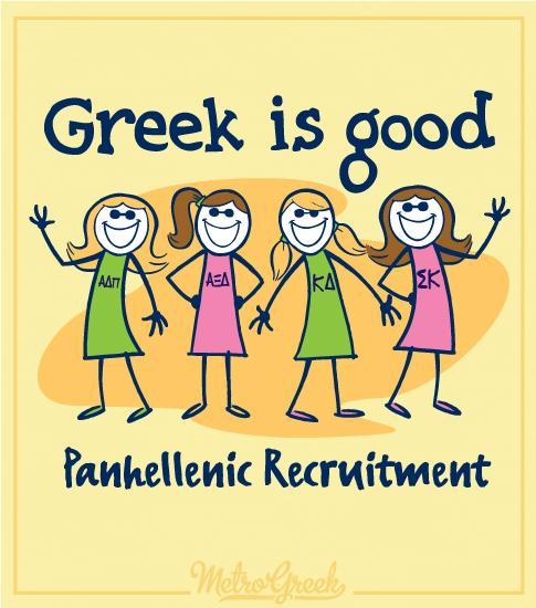 Greek Is Good Shirt Sorority Girls