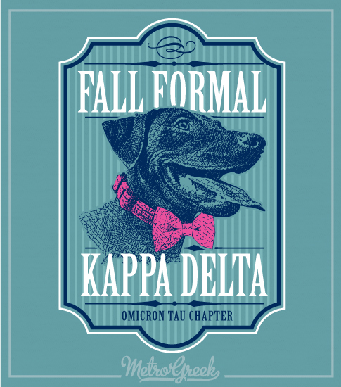 Kappa Delta Lab Retriever Formal Shirt