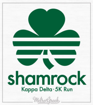 Kappa Delta Shamrock Run Shirt