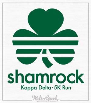 Kappa Delta Shamrock Run Shirt