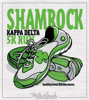 KD Shamrock 5k Run Shirt