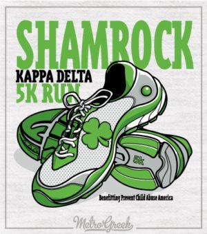 KD Shamrock 5k Run Shirt