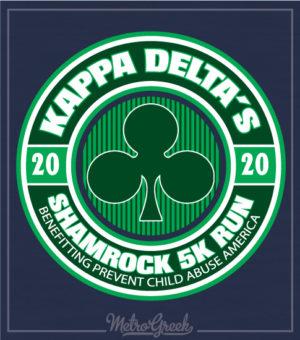 KD Shamrock 5k Circle Shirt