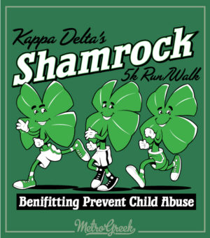 KD Shamrock 5k Run Walk Shirt