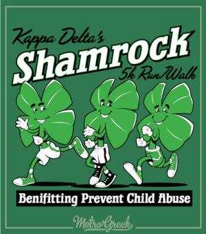 KD Shamrock 5k Run Walk Shirt