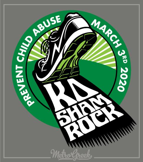 KD Shamrock Rush Shirt Foot Print