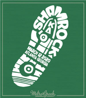 KD Shamrock Shirt 5K Run Print