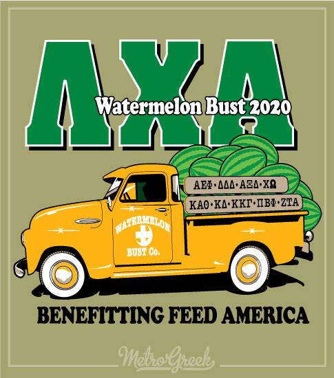 Lambda Chi Watermelon Truck Shirt