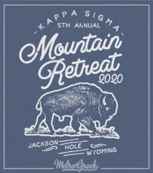 Mountain Retreat Fraternity Shirt Buffalo