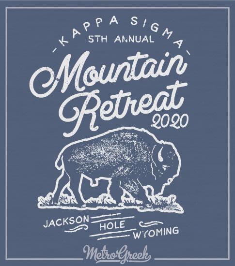 Mountain Retreat Fraternity Shirt Buffalo