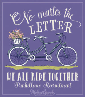 Panhellenic Recruitment Shirt Tandem