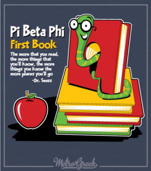 Pi Beta Phi First Book Shirt