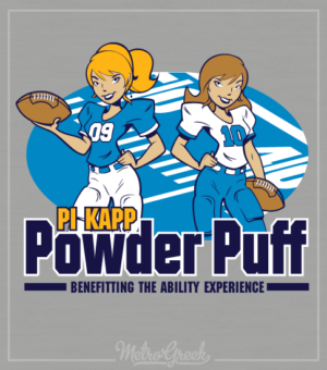 Pi Kappa Phi Powder Puff Shirt
