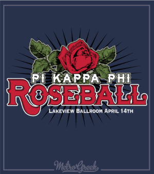 Pi Kappa Phi Roseball Formal Shirt