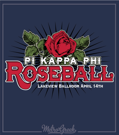 Pi Kappa Phi Roseball Formal Shirt
