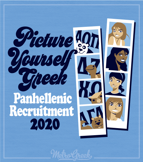Picture Yourself Greek Shirt Panhellenic